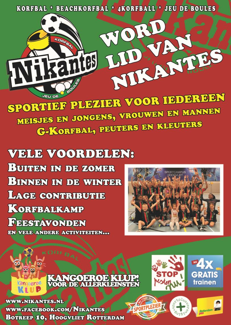 Flyer Nikantes A4 (maart 2018)