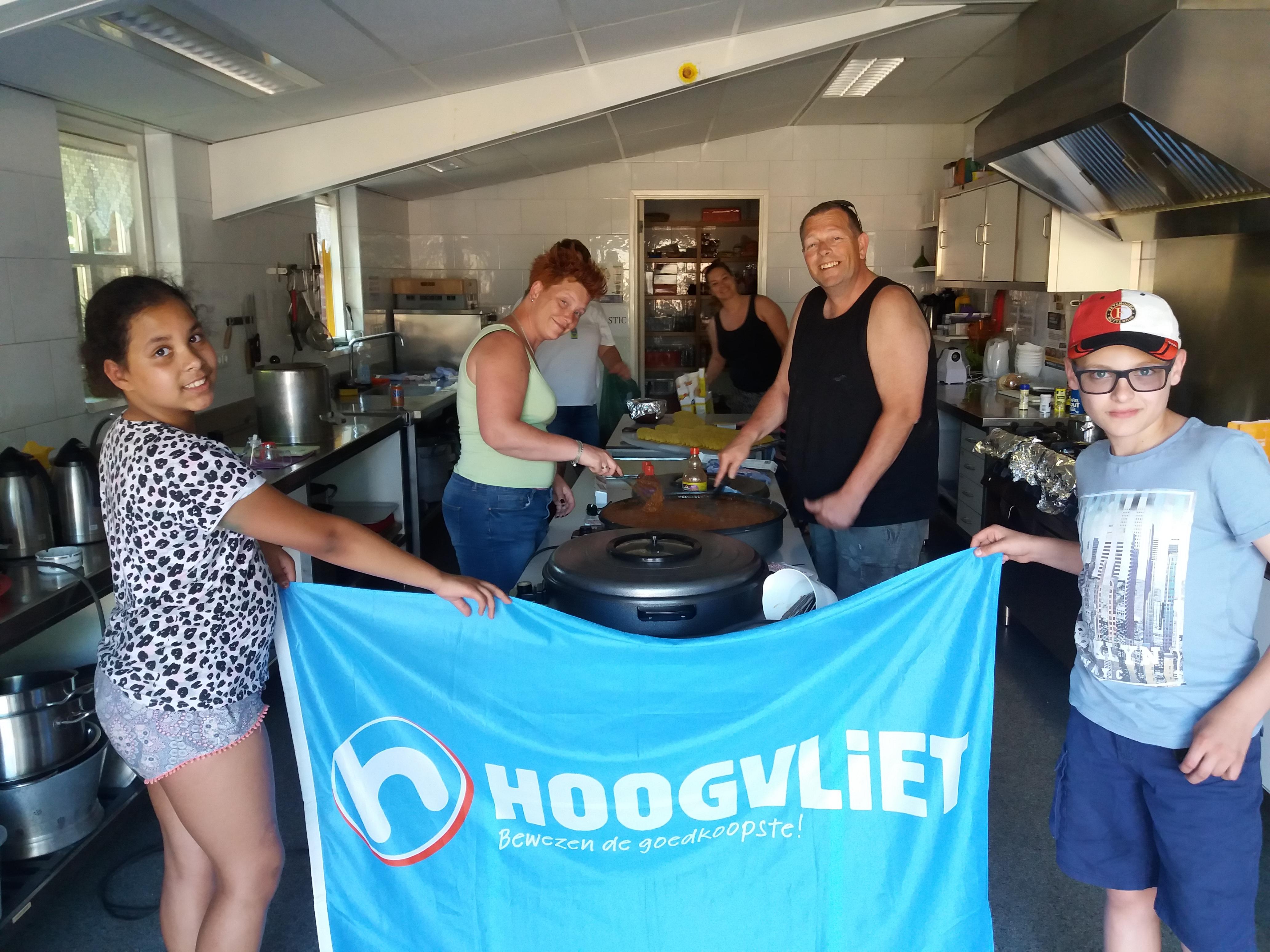 Supermarkt Hoogvliet sponsort het Nikantes kamp 2017