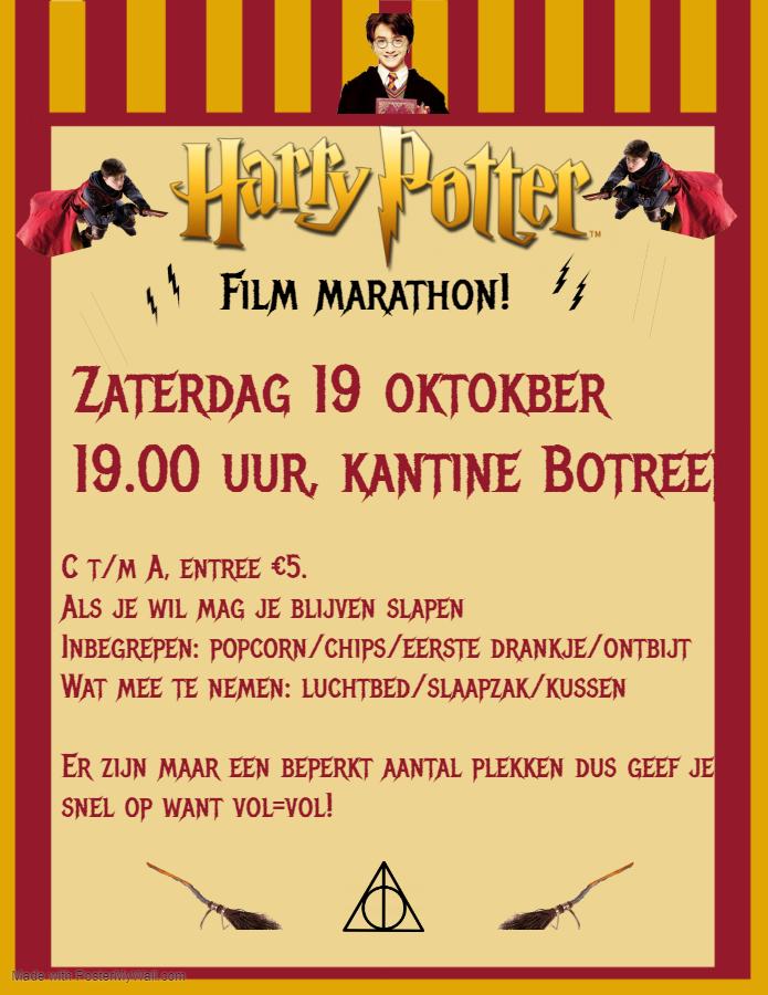 Filmavond 19 oktober