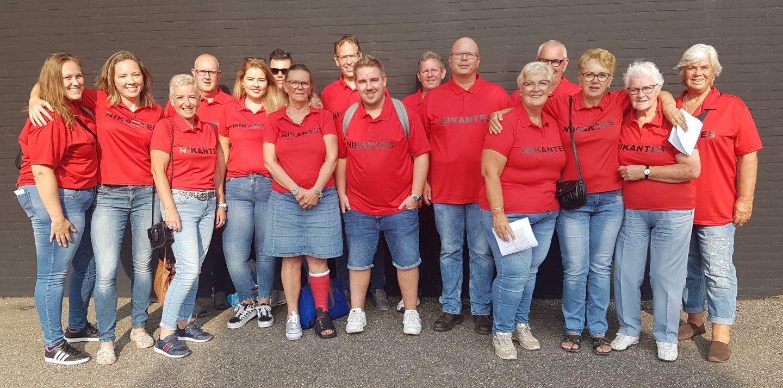 Team Nikantes (deelnemers en supporters)