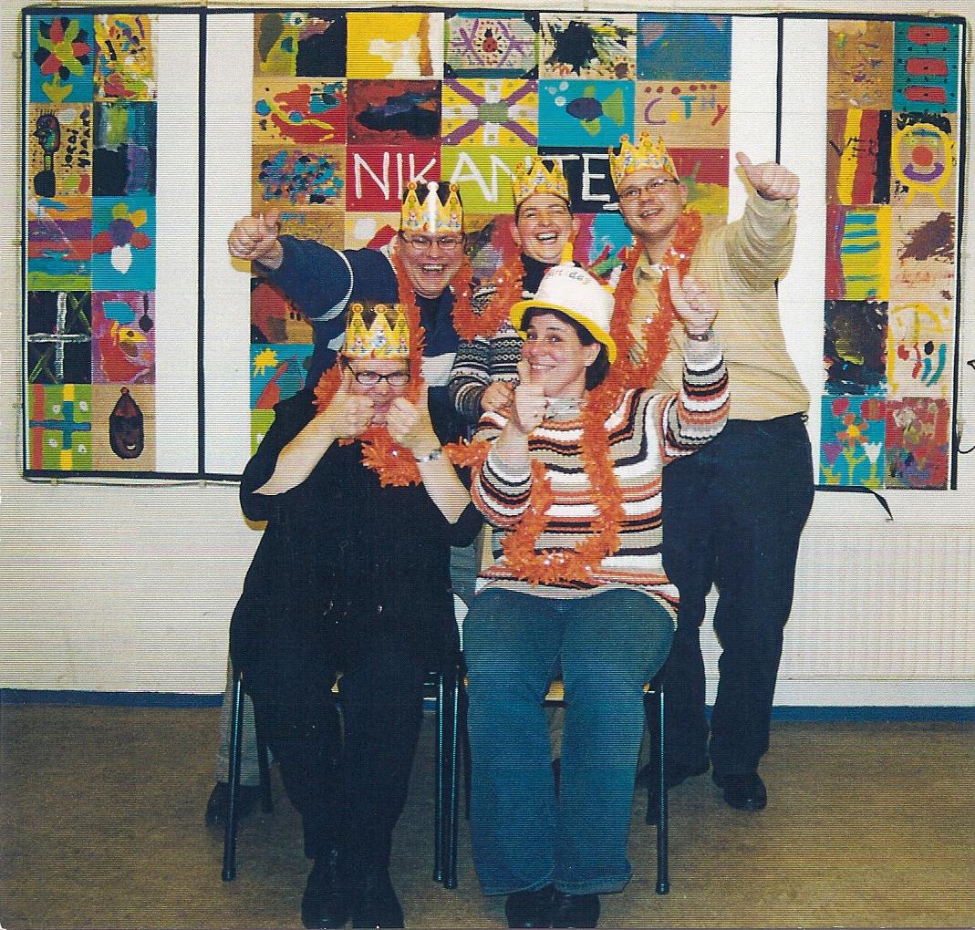2005 Verjaardagskaart bestuur Nikantes 2005 (1)